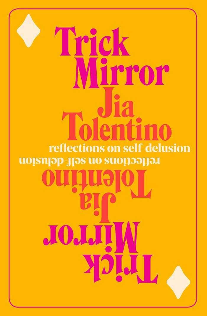 'Trick Mirror: Reflections on Self-Delusion' by Jia Tolentino reading novel literature barack obama