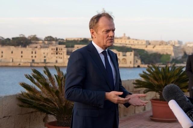 Πρόεδρος Τουσκ στη Μάλτα