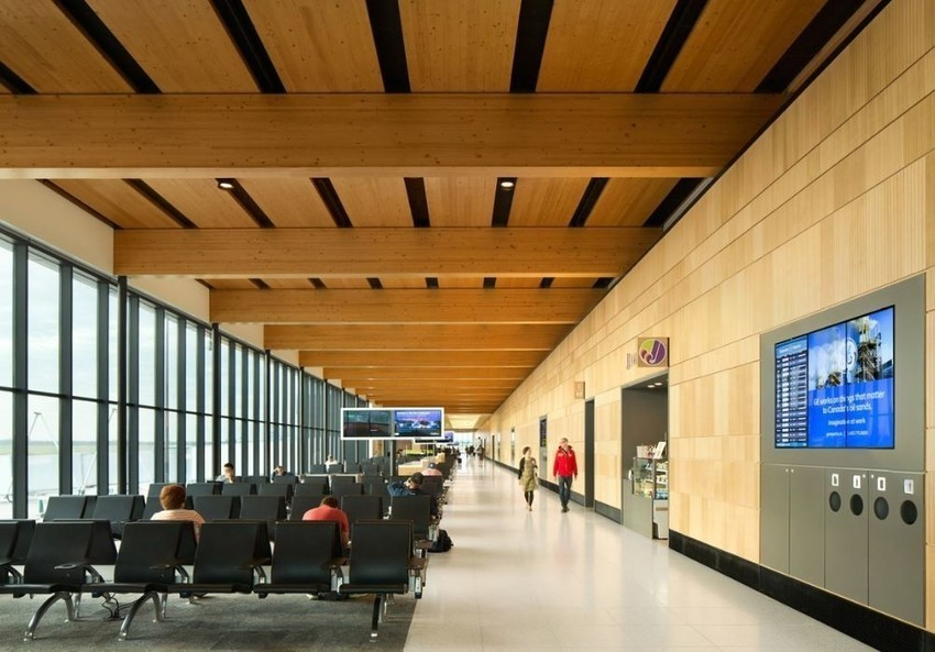 The Fort McMurray International Airport Terminal