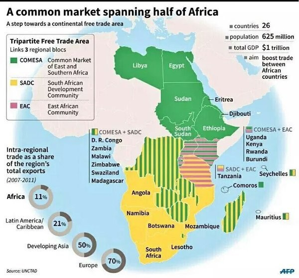 A common market spanning half of Africa