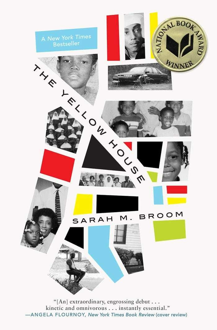 'The Yellow House' by Sarah M. Broom literature novel book reading barack obama
