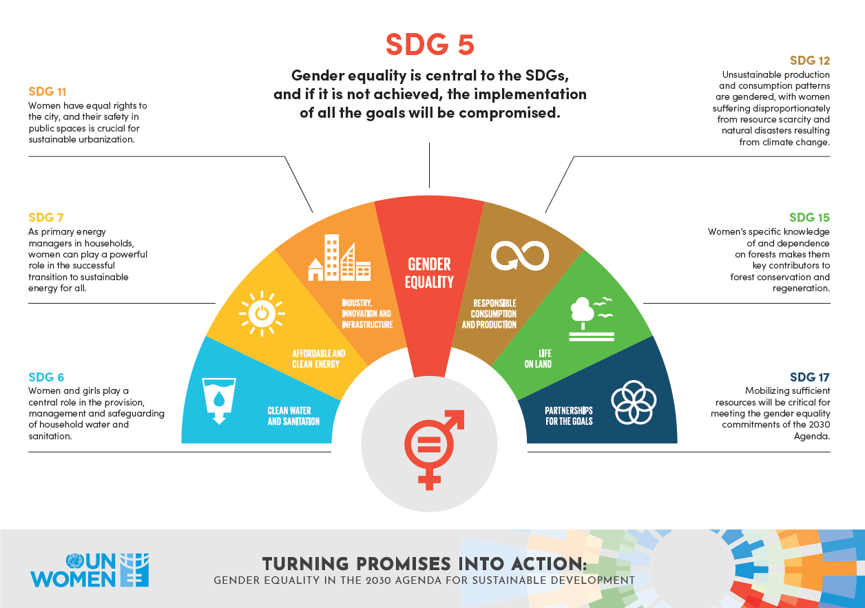 Gender equality in the 2050 Agenda for Sustainable Development