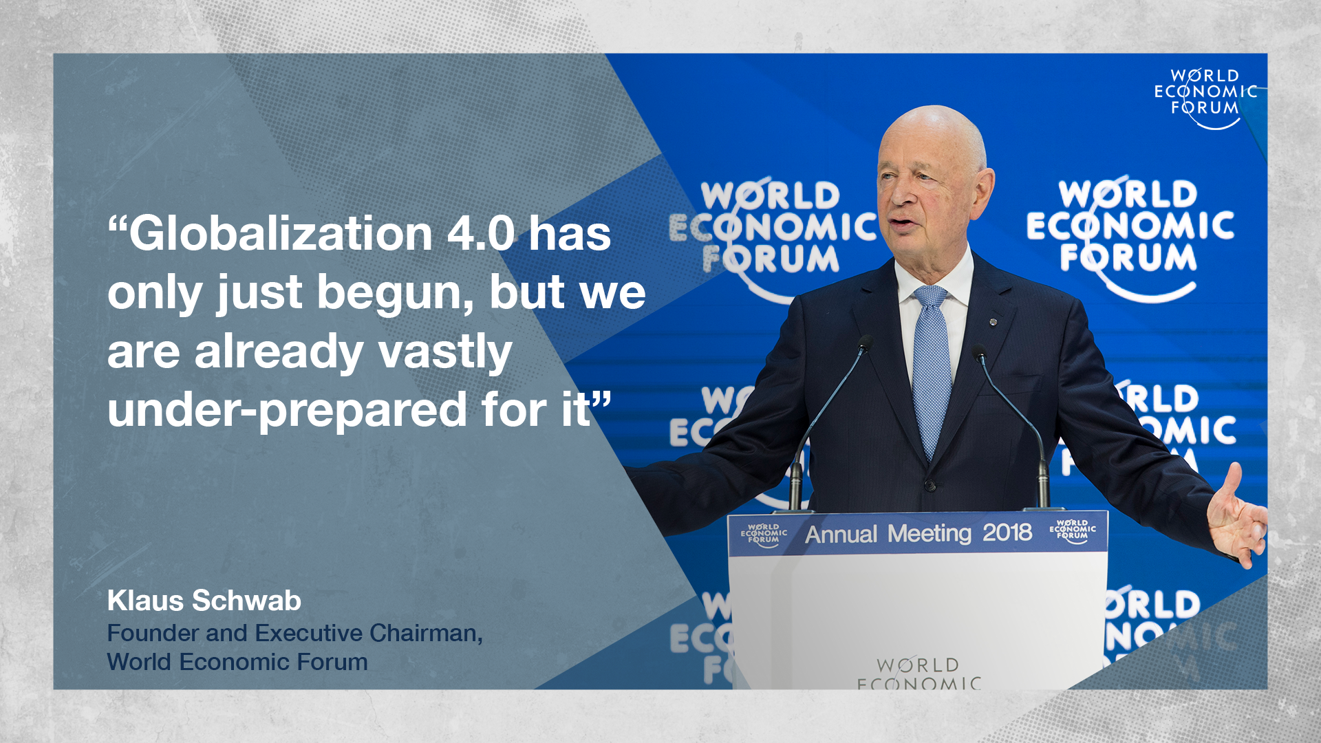 Globalization 4 0 will only be effective if it can rectify the economic injustices propagated by earlier waves of globalization