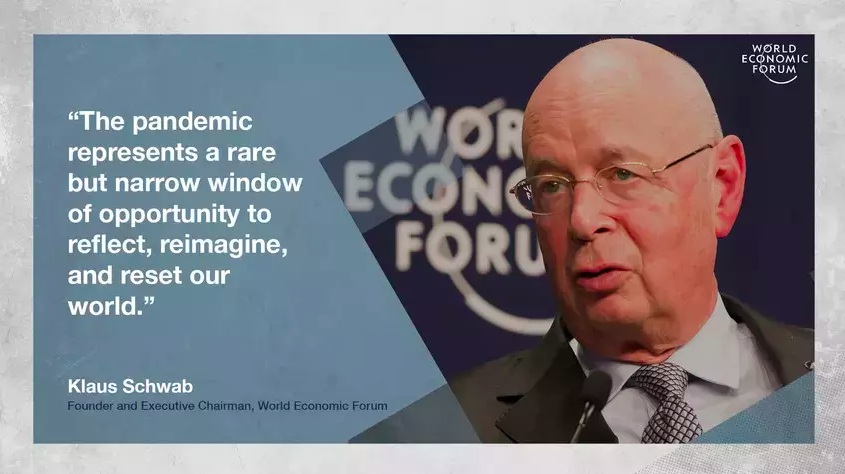 Professor Klaus Schwab on The Great Reset