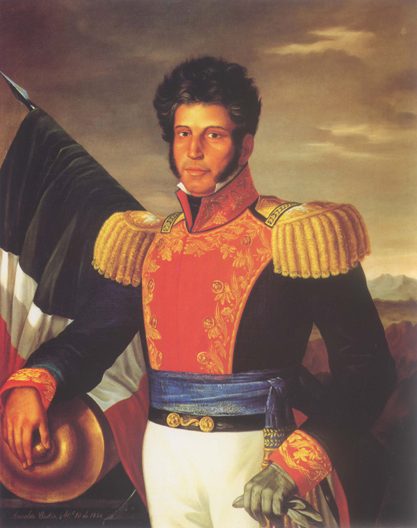 Soldier and president Vicente Guerrero