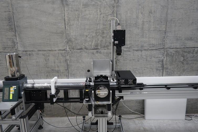 Le scanner de l'université de São Paulo.