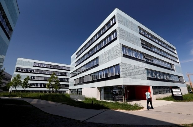 The Innovation Park is seen at the Swiss Federal Institute of Technology (EPFL) in Ecublens, near Lausanne, Switzerland May 10, 2016. REUTERS/Denis Balibouse - RTSF0VZ