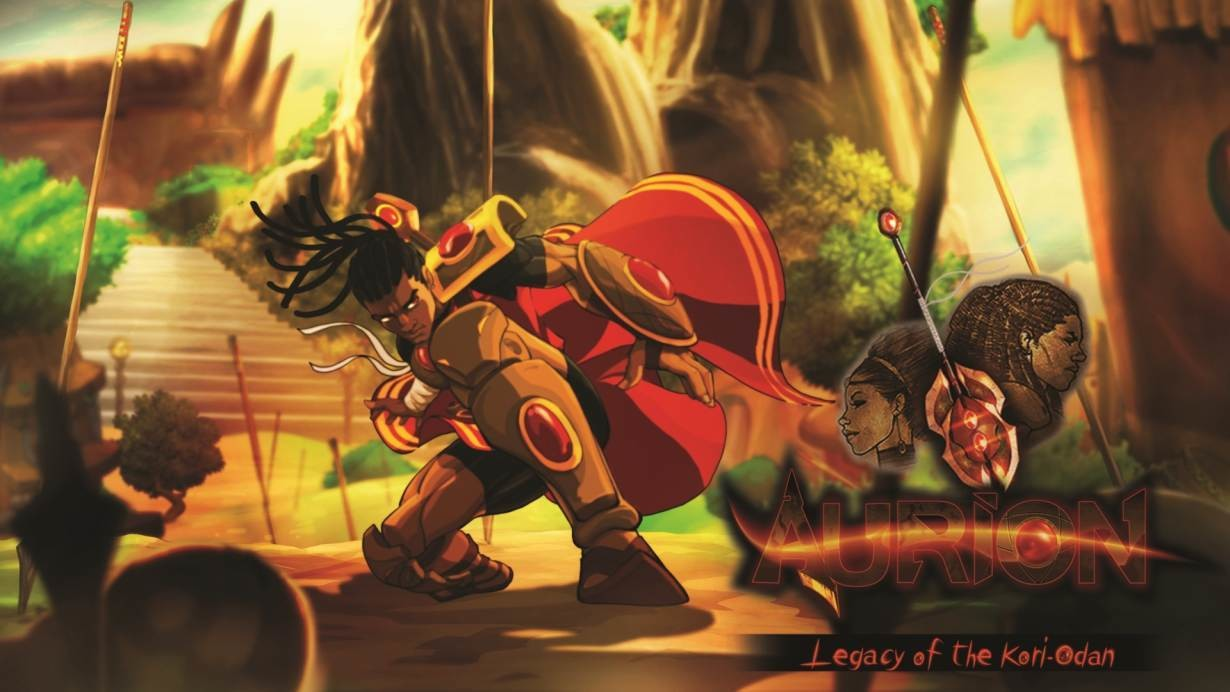Key art of Enzo Kori-Odan, from Kiro'o Games's Aurion: Legacy of the Kori-Odan game.