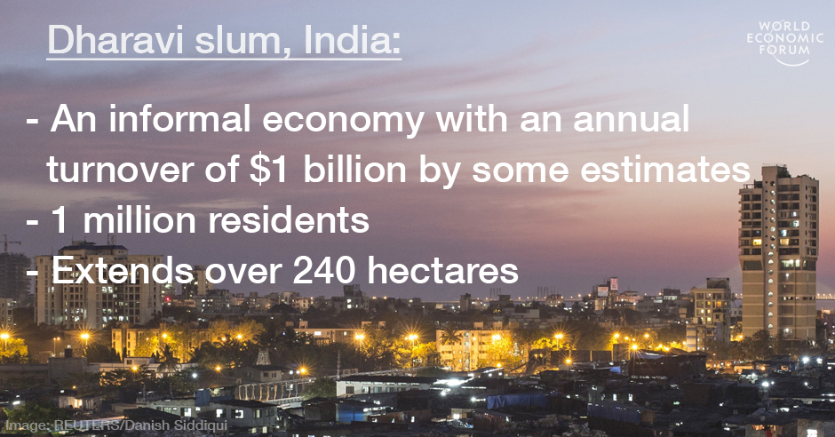 Dharavi slum fact card