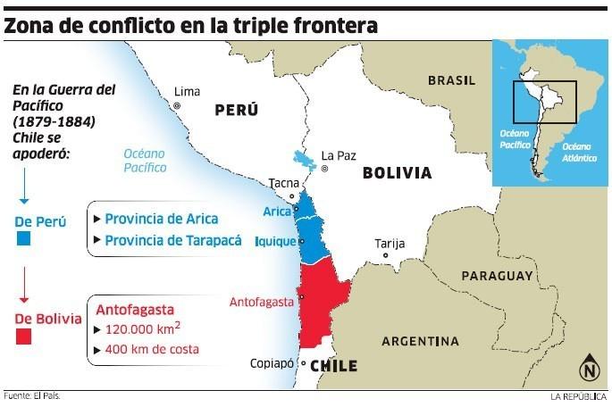 La Compleja Relacion De Peru Bolivia Y Chile Una Herencia De La Guerra Del Pacifico Foro Economico Mundial
