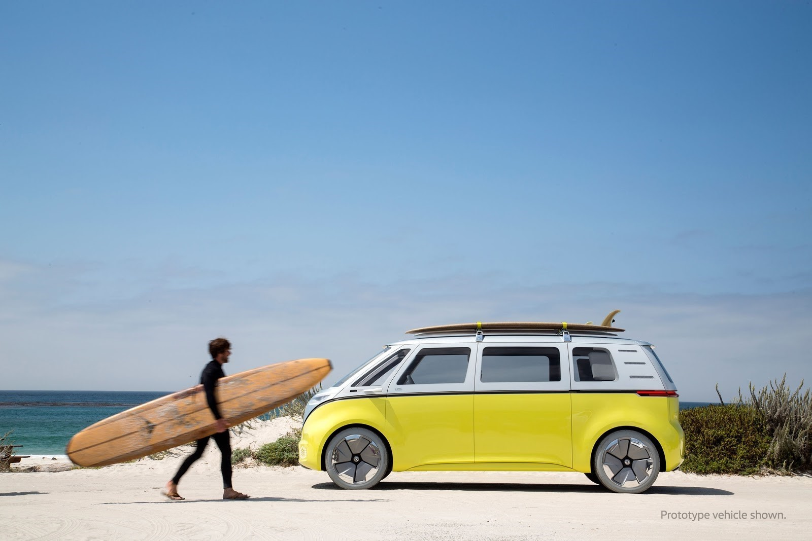 Will The New Electric Campervan Also Become A Symbol Of Freedom Image Volkswagen