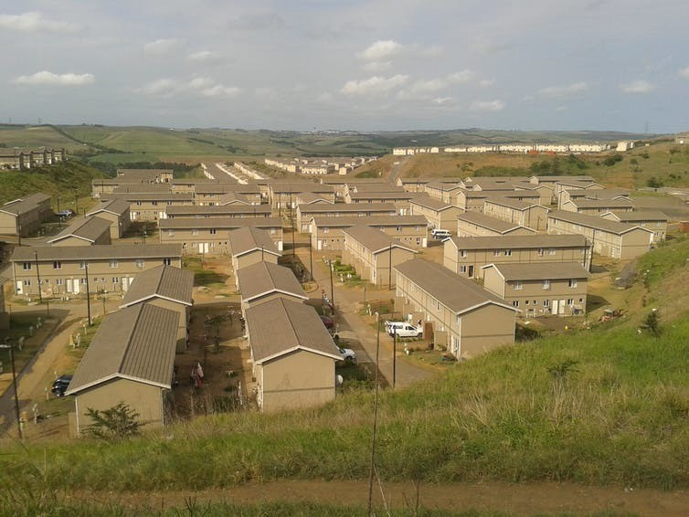 Affordable housing in South Africa, 2014.