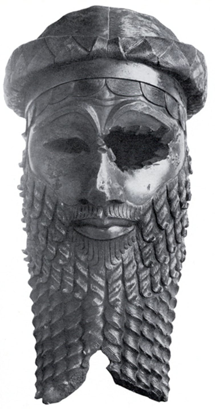Sargon of Akkad – or maybe his son, Naram-Sin.