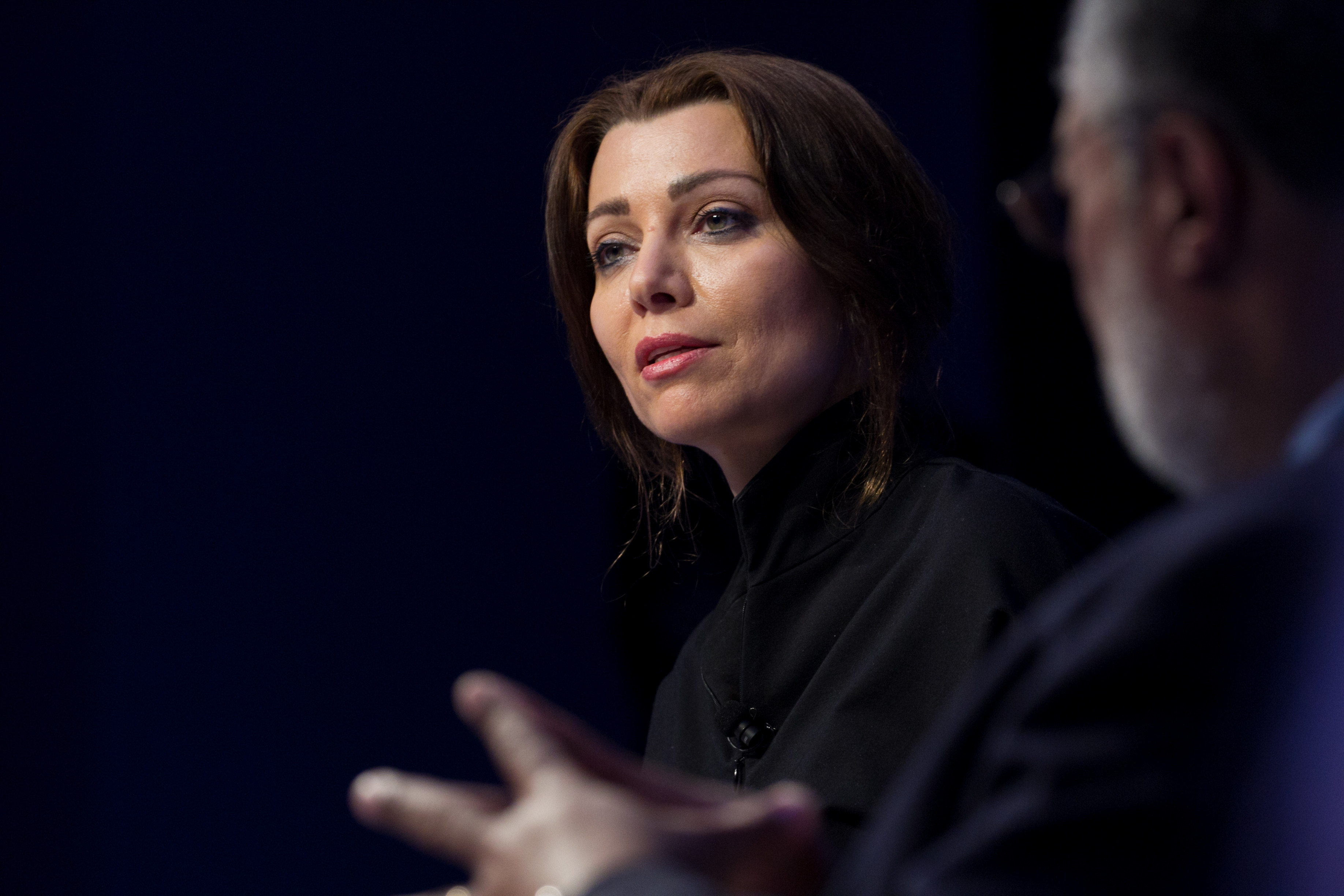 Elif Shafak, Author, Turkey speaking at the Annual Meeting 2017 of the World Economic Forum in Davos, January 18, 2017Copyright by World Economic Forum / Greg Beadle