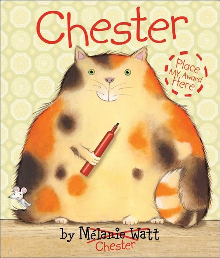 chester melanie watt kids can press book literature cat picture book fun
