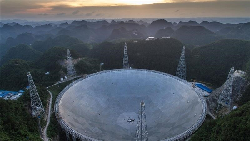 The Five-hundred-metre Aperture Spherical Telescope