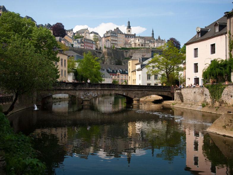 Vue de Luxembourg.
