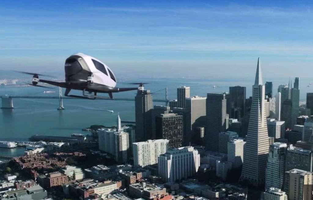 Non content de bouleverser le transport terrestre avec son service de VTC, Uber pense pouvoir appliquer son modèle dans les airs, en utilisant des drones autonomes. Alors, bientôt des taxis volants ?