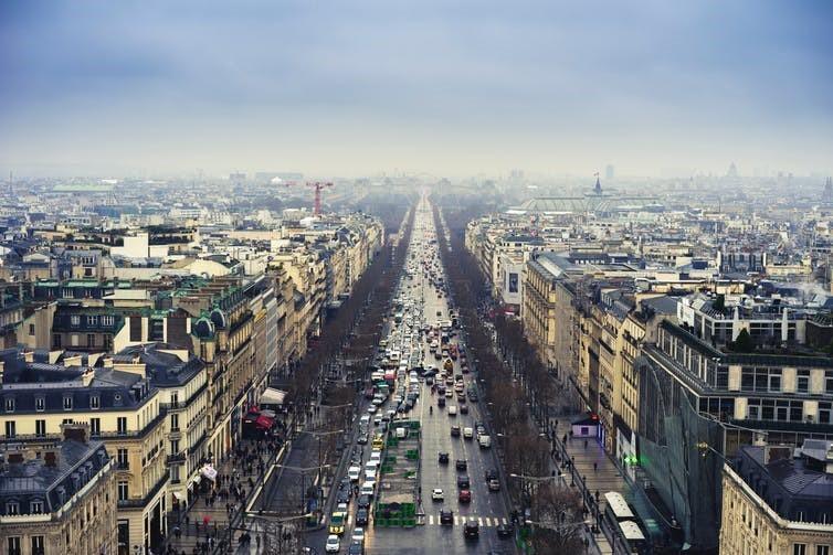 Paris haze.