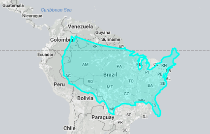 This is the true size of the US