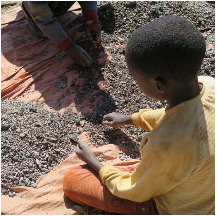Cobalt is a big health risk to those - including children - that mine it.