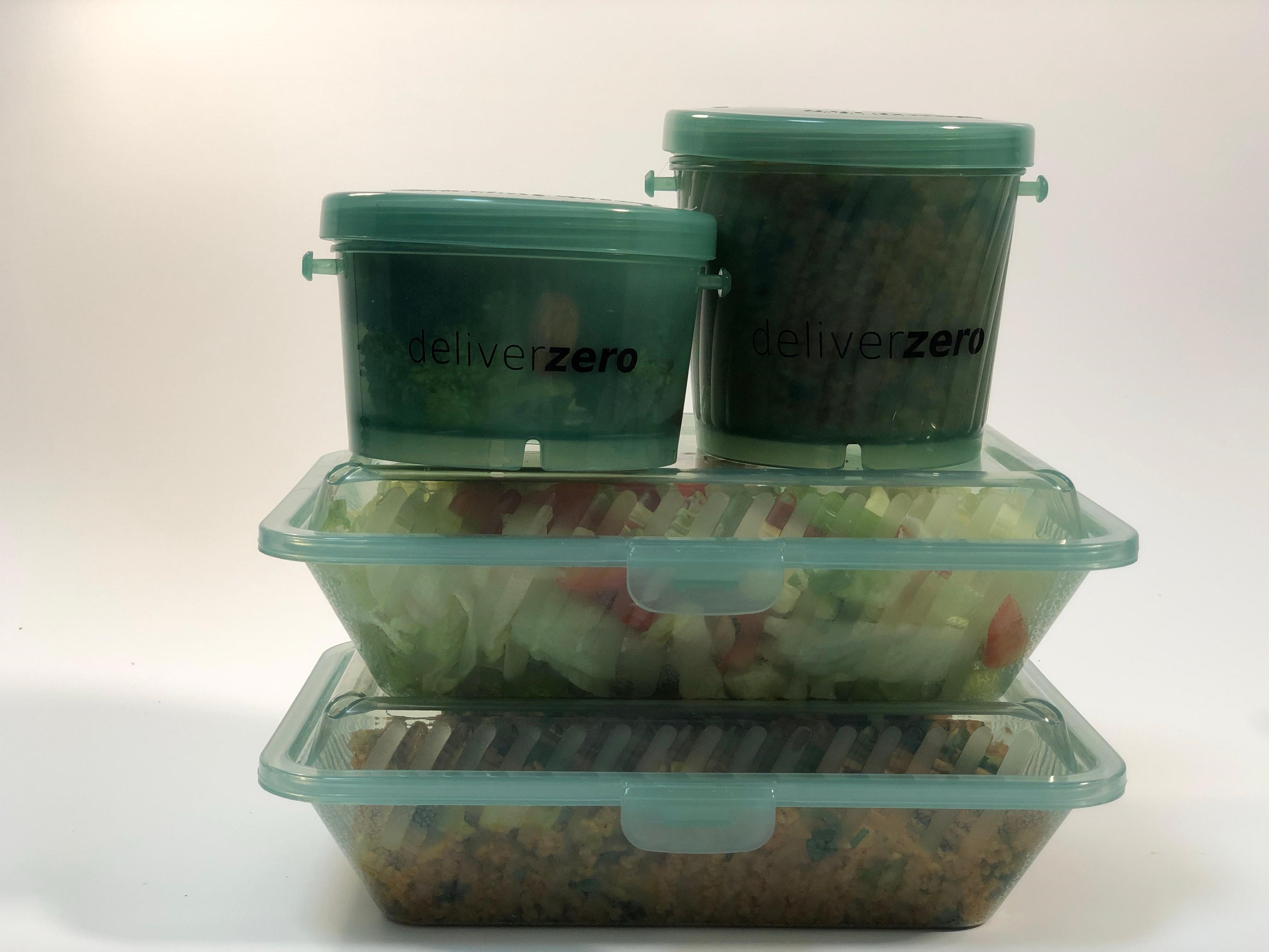 DeliverZero food containers