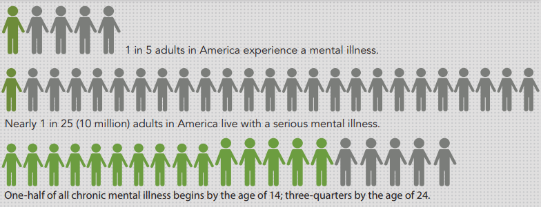 Mental Health Facts in the US