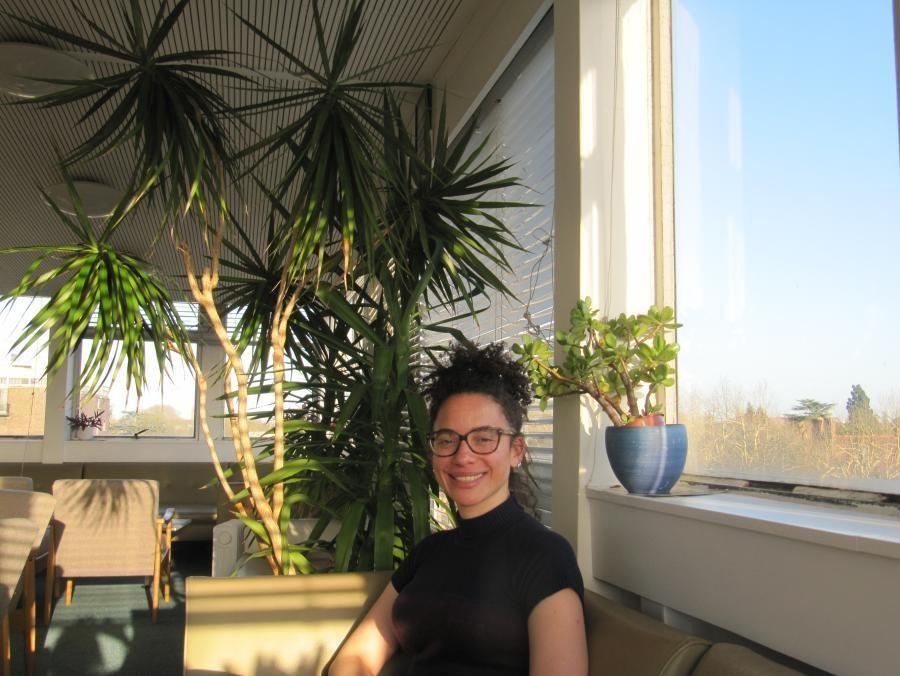 Carolina Alves in Cambridge's economics department.