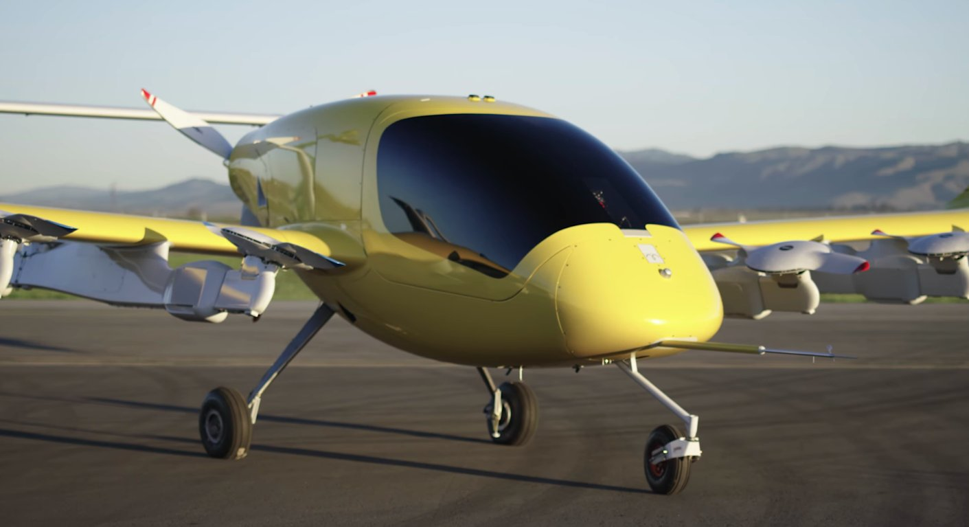 The Cora airtaxi prototype.
