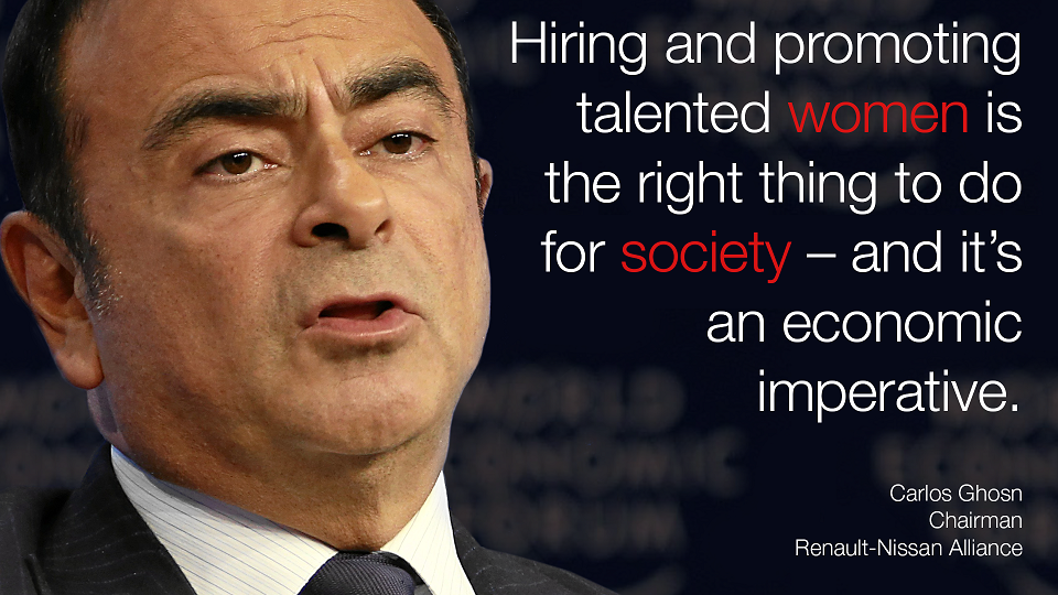 "a great leader carlos ghosn challenges Now ghosn is running both renault and nissan  leadership content  his  great potential for the future, and his international scope,"" says matteo cambi,   plan at a time when the company was facing serious problems."