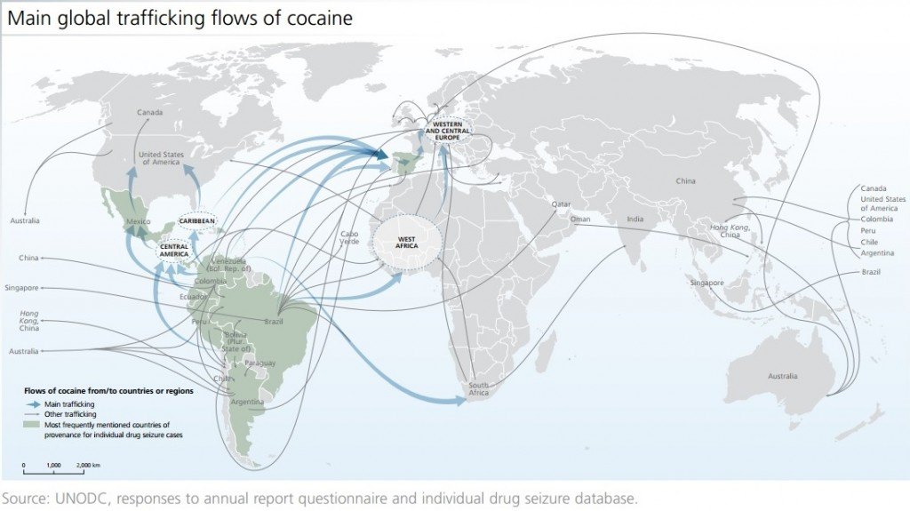 150629-world drugs report cocaine flow map