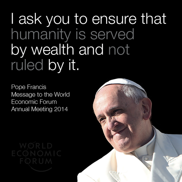 Pope message