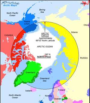 Arctic Circle On World Map.6 Charts To Help You Become An Arctic Expert World Economic Forum