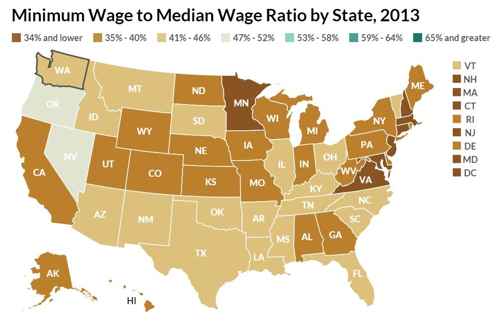 151124-Minimum wage to median wage ratio United States US Equitable Growth