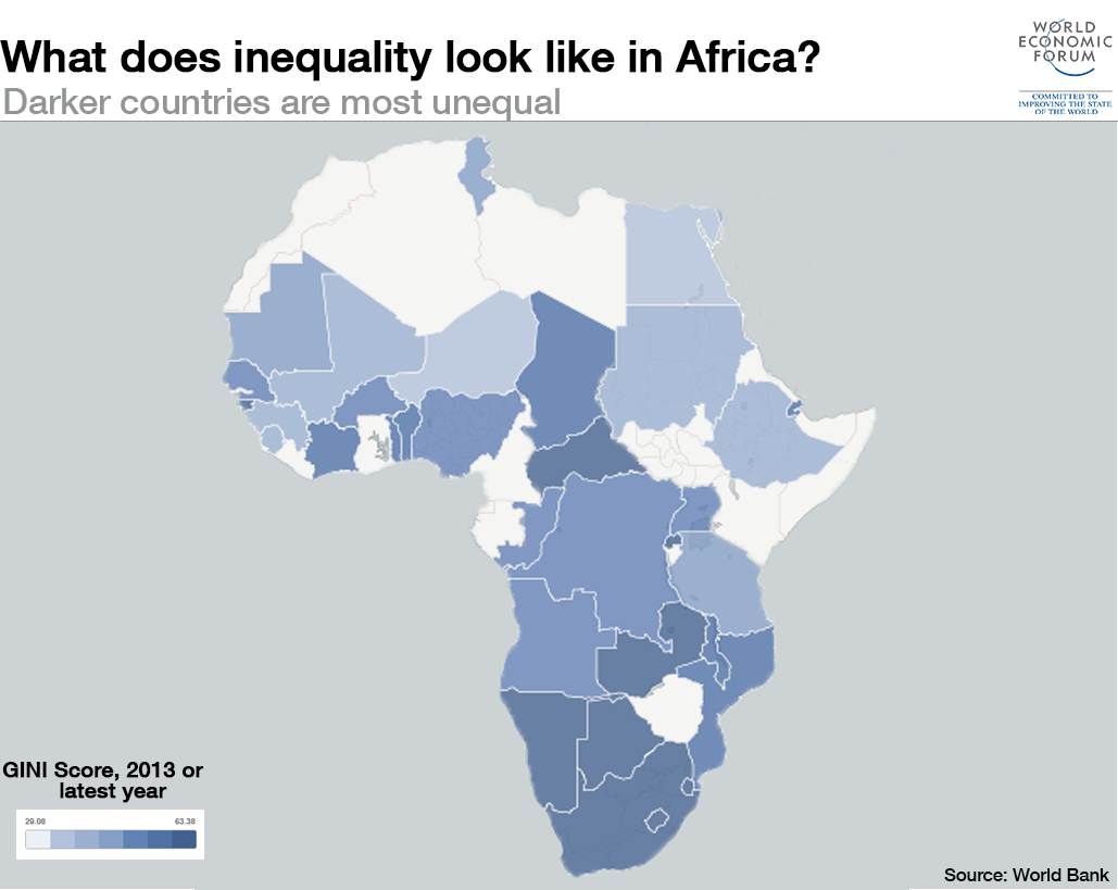 5 maps on the state of global inequality world economic forum 1511b11 africa inequality map gumiabroncs Choice Image