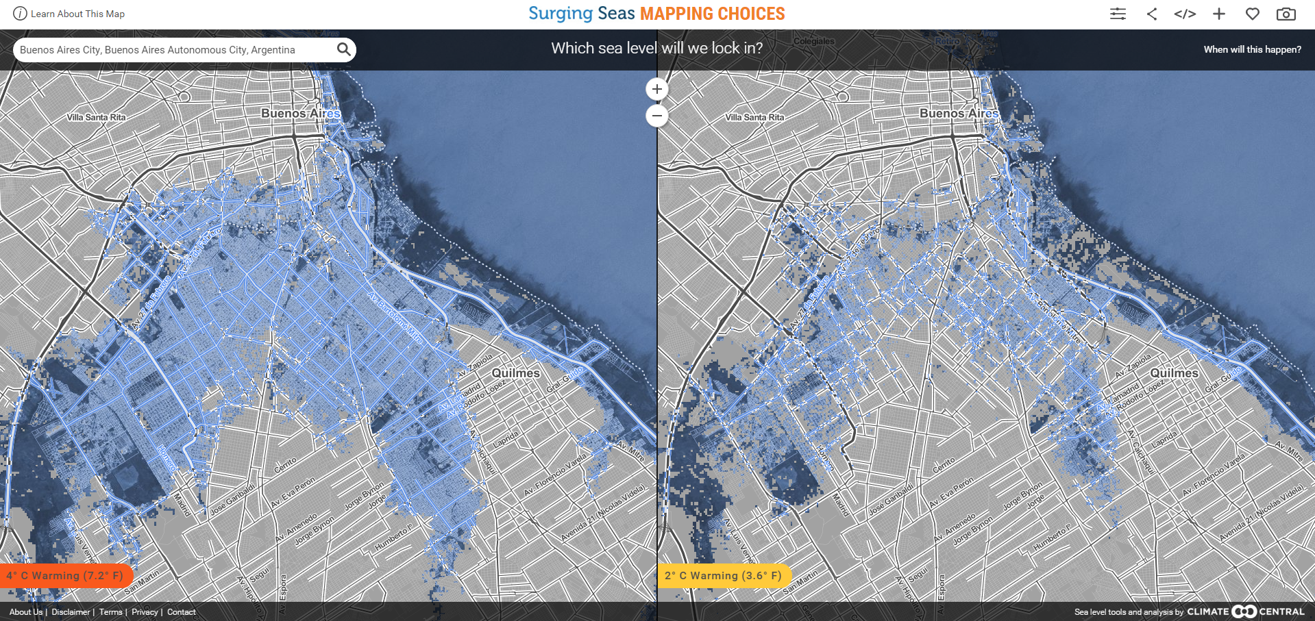 1511B32-buenos aires sea level rise predictor map