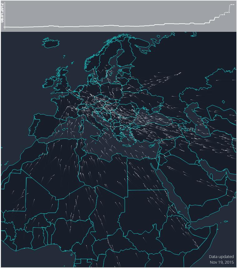 1511B57-refugee asylum seeker flow europe