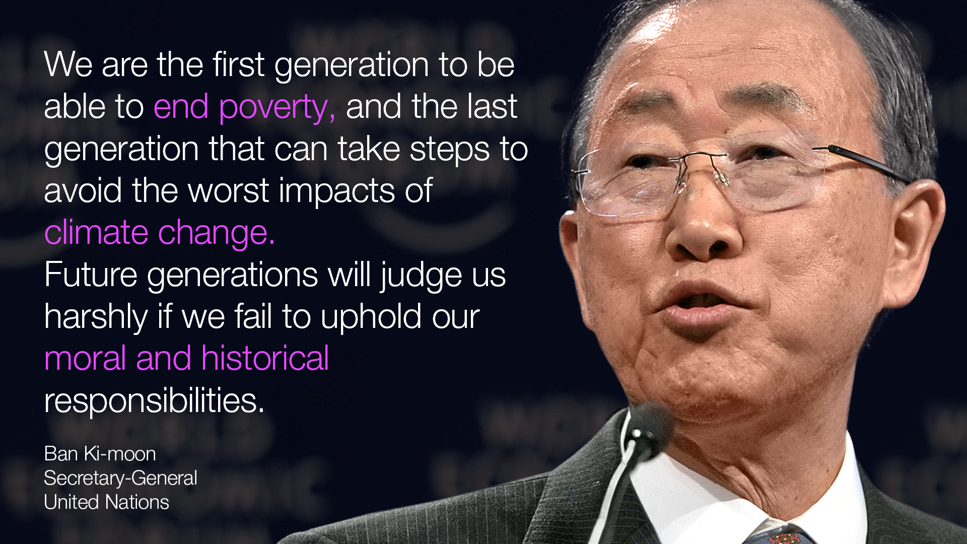 Global Warming Quotes 15 Quotes On Climate Changeworld Leaders  World Economic Forum