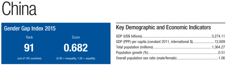 The Global Gender Gap Report In Numbers  World Economic Forum-4213