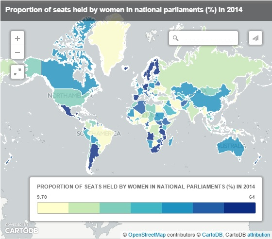 150306-women in parliaments WB world map