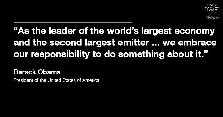 18 Quotes From World Leaders On Climate Change World Economic Forum