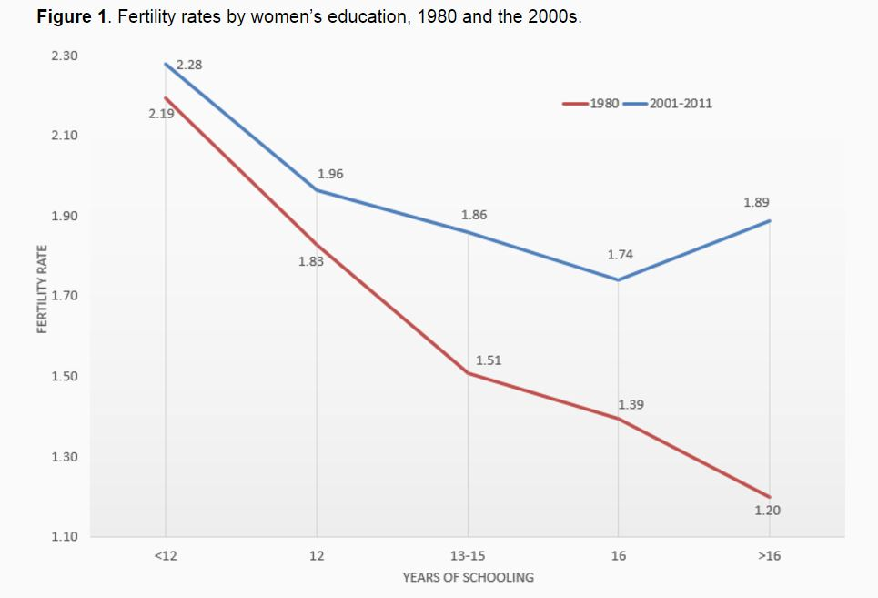 education and fertility Education's impact on fertility: the case of king saud university women, riyadh  such a negative relationship between overall status and fertility points out the education-fertility relation as education is an increasingly important determinant of status again, showing the indirect effect of education.