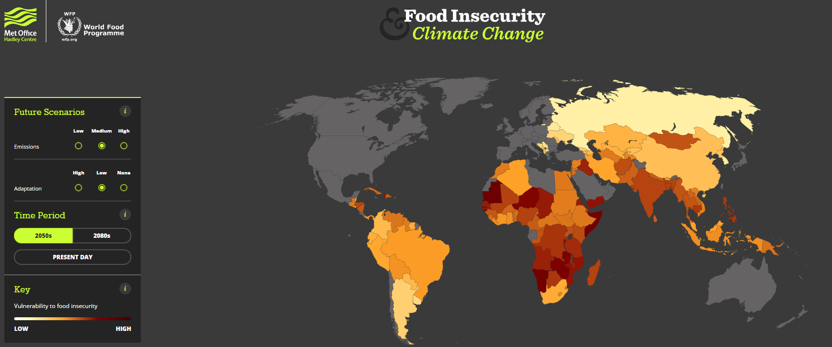1512B15-food insecurity climate change map