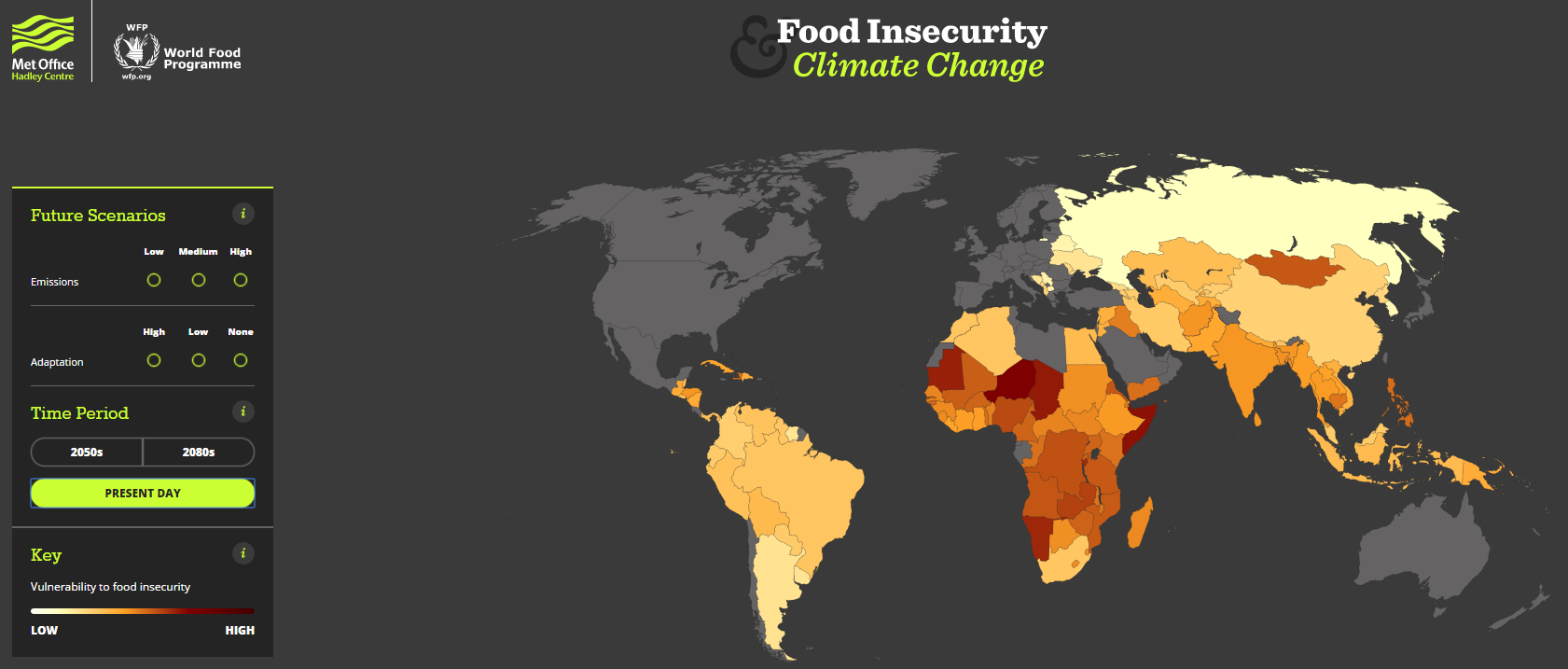 1512B15-food insecurity climate change present day map