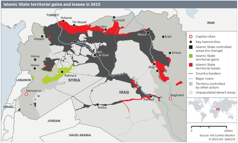1512B43-ISIS territory lost in 2015 map IHS