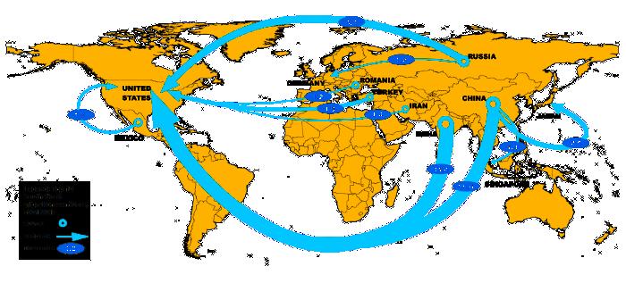What Leads Inventors To Migrate World Economic Forum Magnificent Migration Patterns